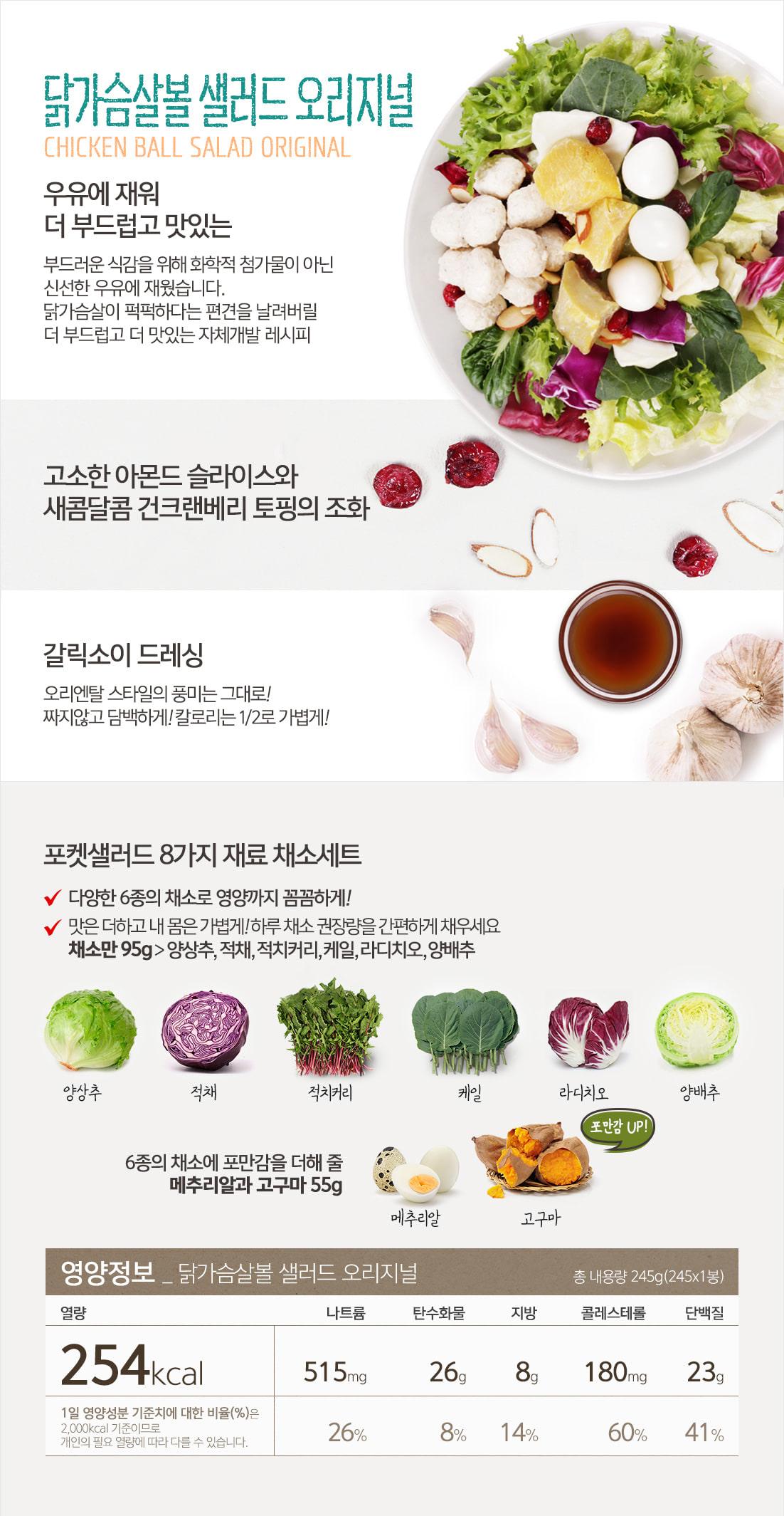 닭볼(오리지널)_영양정보